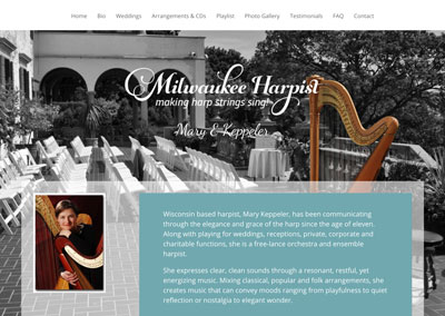 Milwaukee Harpist